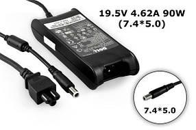 Зарядное устройство сетевой адаптер для ноутбука Dell 19.5V 4.62A 90W 7.4*5.0 INSPIRON 1150, 1501,