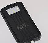 Мощный Power Bank Asus  40000 mAh. Внешний аккумулятор, зарядное. Солнечная батарея + ФОНАРИК, фото 2