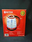 Электрочайник BITEK BT-3110 1,8л 2400Вт c LED подсветкой, фото 3