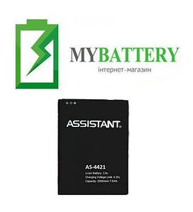 Оригинальный аккумулятор АКБ батарея для Assistant AS-4421 (Blackview A5) 2000 mAh 3.8 V