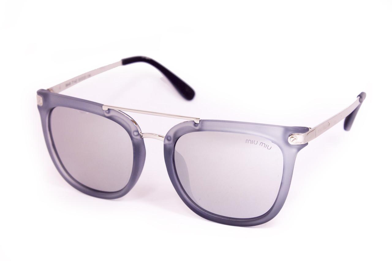 Брендовые солнцезащитные очки  (9649-142)