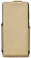 Чохол для смартфона Red Point Xiaomi Redmi 5 - Flip case (Золотистий)