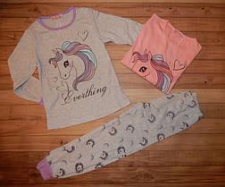 Детская пижама для девочек Пони  8-16 р
