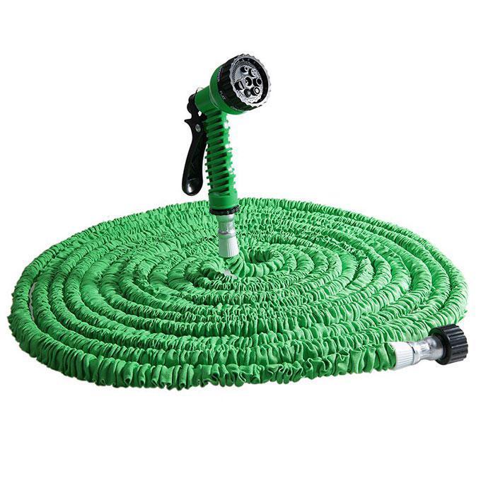 ✅ Поливочный шланг Икс-Хоз Xhose 30 м. Magic Hose зелёный - для огорода, сада и дачи с доставкой по Украине, Поливочные шланги, системы полива,