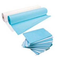 Одноразовые простыни, салфетки, полотенца