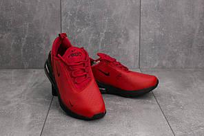 Кроссовки В 1043-5 (Nike Air 270) (весна-осень, женские, резина, красно-черный)