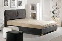 Кровать Феллини с п/м 1,6 (мисти грей сапфир) Domini