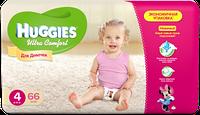 Подгузники Huggies Ultra Comfort №4 8-14 кг (хаггис ультра комфорт) для девочек 1 шт.