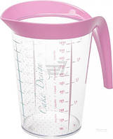 Мерный стакан 1 л розовый Snips