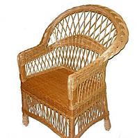 Плетеное кресло из лозы Код 11819