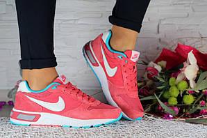 Кроссовки Classik В434 (Nike Internacionalist) (весна-осень, женские, замш, бордовый)