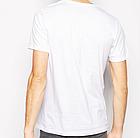 Чоловіча двошарова футболка V-виріз розмір M, фото 2