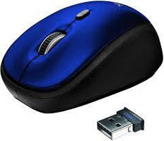 Мышка Trust Yvi Wireless Mini Mouse Blue USB (19663)