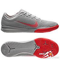 Футзалки Nike Mercurial VaporX XII Pro IC Grey/Crimson