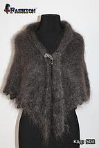 Оренбургский пуховый платок-косынка Беатриса 140х100см, фото 2