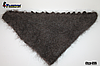Оренбургский пуховый платок-косынка Беатриса 140х100см, фото 3
