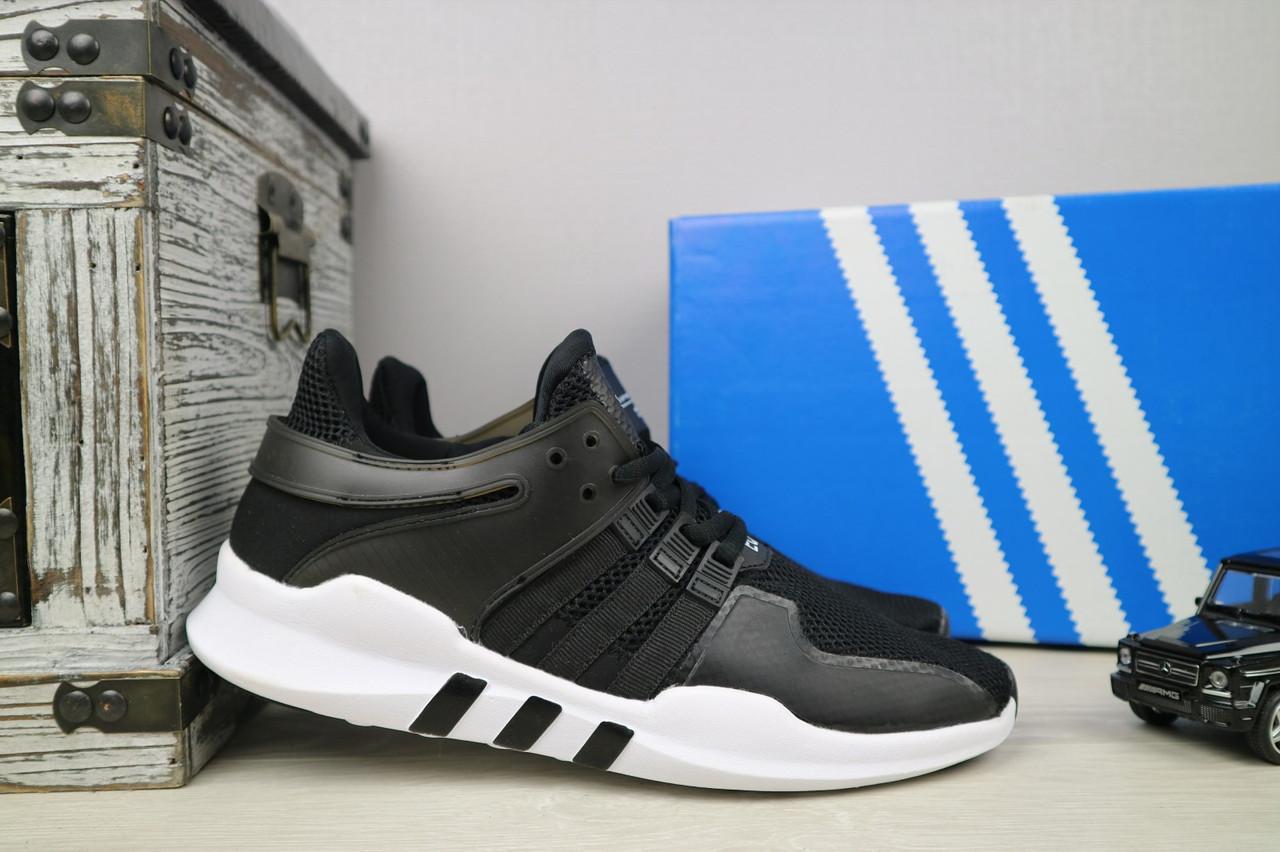 Кроссовки Classik G5031-2 (Adidas Equipment) (лето, мужские, сетка плотная, черный)