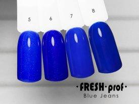 Гель-лак Blue Jeans № 7 FRESH Prof