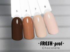 Гель-лак Chocolate № 8 FRESH Prof