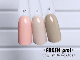 Гель-лак English Breakfast № 14 FRESH Prof