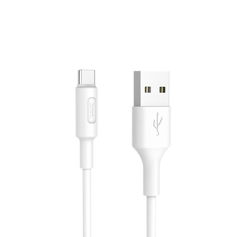 USB кабель Hoco X25 Soarer Type-C White 1m
