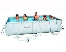 Каркасный бассейн Bestway 56251 (4х2х1 м, прямоугольный)