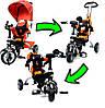 Детский трехколесный велосипед PATY BIKE PLUS., фото 4