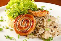 Баварская колбаска Улитка запеченная в печи
