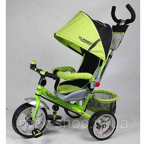 Детский трёхколёсный Велосипед M 5387-1 зеленый