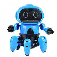 """Конструктор """"Умный робот Крабик"""" (развивающий конструктор, интерактивный робот)"""