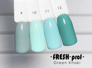 Гель-лак Green Khaki № 12 FRESH Prof