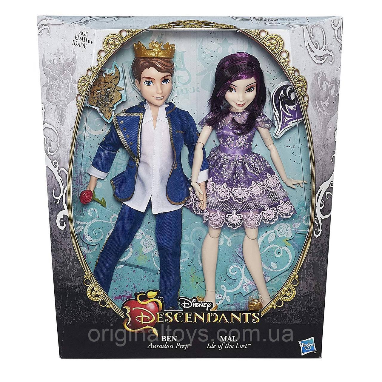 Куклы Мэл и Бен Наследники Дисней Disney Descendants