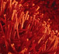 Ковер длинноворсовый оранжевый