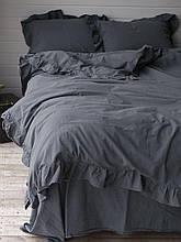 Комплект постельного белья из вареного хлопка размер евро LIMASSO CASTLEROCK EXCLUSIVE