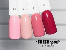 Гель-лак Lipstick № 27 FRESH Prof
