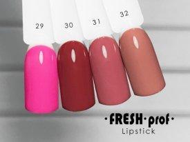 Гель-лак Lipstick № 31 FRESH Prof