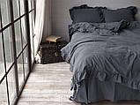Комплект постельного белья из вареного хлопка размер евро LIMASSO CASTLEROCK EXCLUSIVE, фото 2