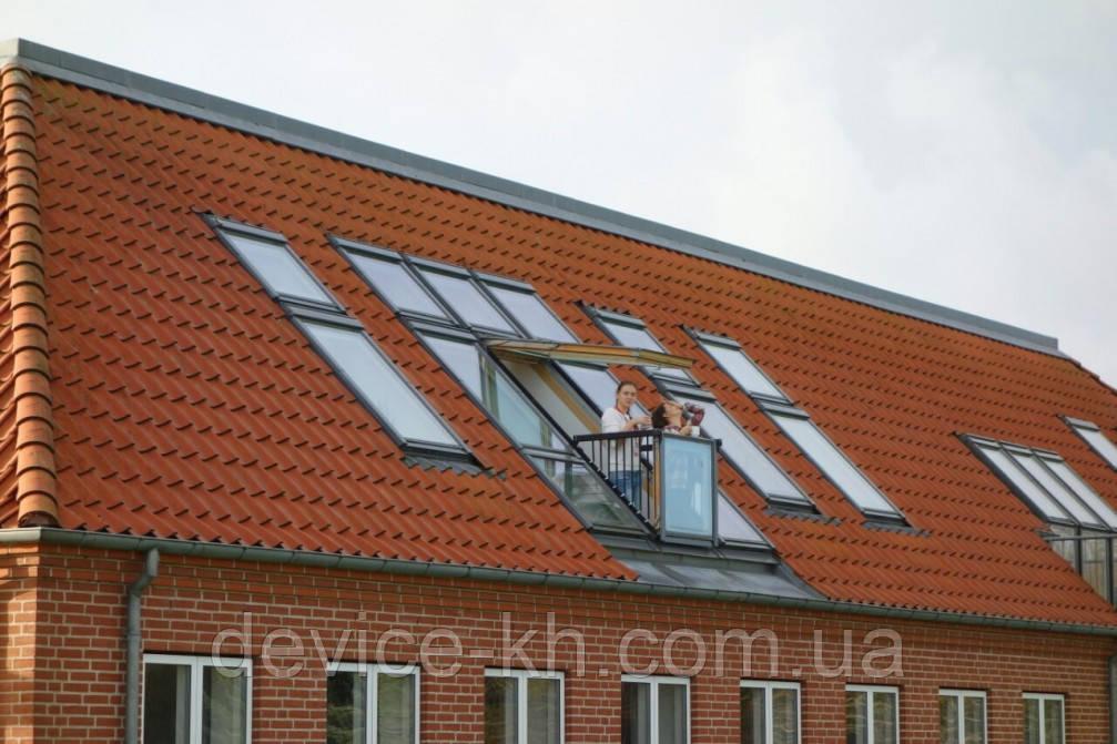 Мансардные окна VELUX.