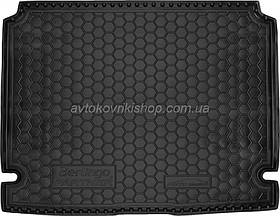 Резиновый коврик багажника Citroen Berlingo 2008- Avto-Gumm