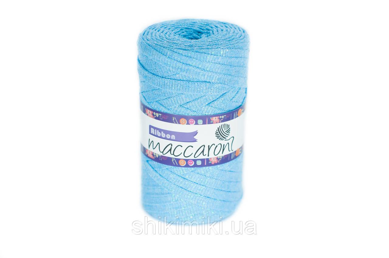 Трикотажный плоский шнур Ribbon Glitter, цвет Топаз