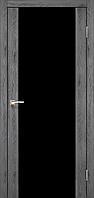 Дверное полотно Sanremo SR-01 (Черное стекло)
