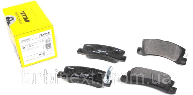 Колодки гальмівні (передні) Toyota Camry 2.2-3.0 i 91-01 (Akebono) TEXTAR 2242601