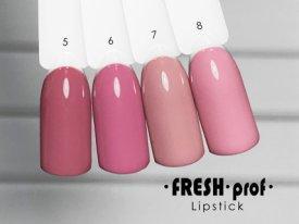 Гель-лак Lipstick № 7 FRESH Prof