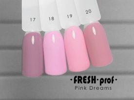 Гель-лак Pink Dreams № 19 FRESH Prof