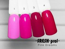 Гель-лак Pink Dreams № 4 FRESH Prof