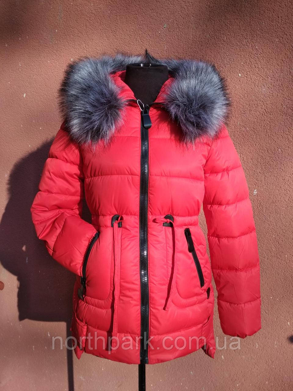 Куртка-парка женская утепленная тинсулейтом