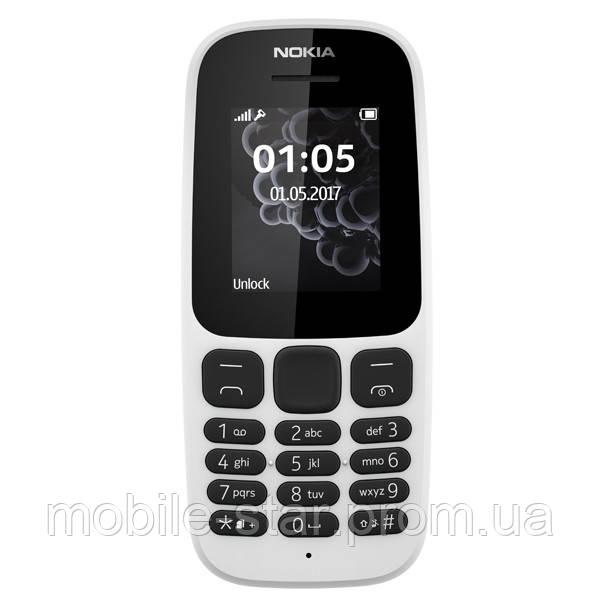 Nokia 105 SS (2017) white