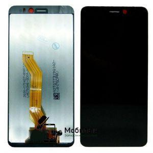Дисплей HTC 12 Desire черный с тачскрином (HQ)