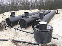 Резервуар горизонтальный