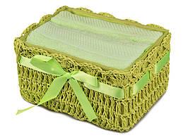 Подарочный набор из 2 полотенец 40х60 см 813-038